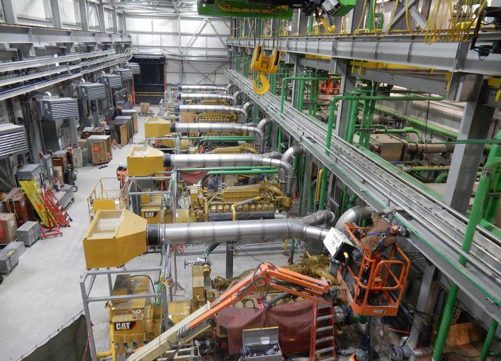 Generator Room Salle Des Génératrices